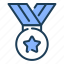 medal, prize, award, achievement, winner
