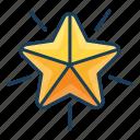 star, badge, point, quality, award