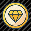 diamond, award, quality, premium, luxury