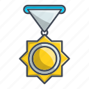 achievement, award, medal, prize, success icon