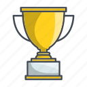 achievement, champion, cup, trophy, win icon