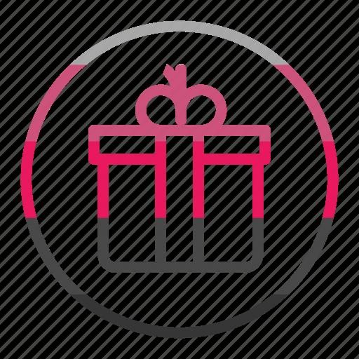 birthday, celebration, christmas, gift icon