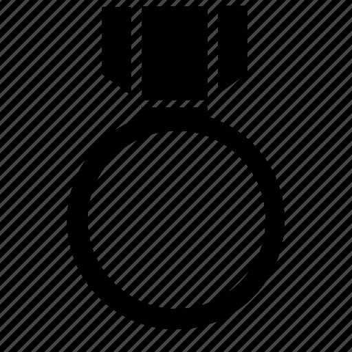 achievement, badge, empty, medal, prize, success, win icon