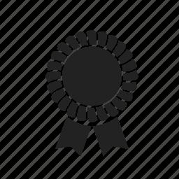 award, certificate, medal, prize, seal icon