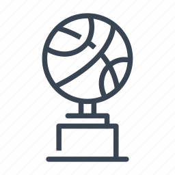 award, basketball, cup, trophy, victory icon