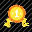 award, trophy, badge, winner, top, champion, medal