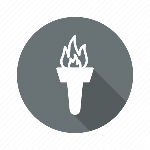 burn, flame, olympic, olympic flame icon