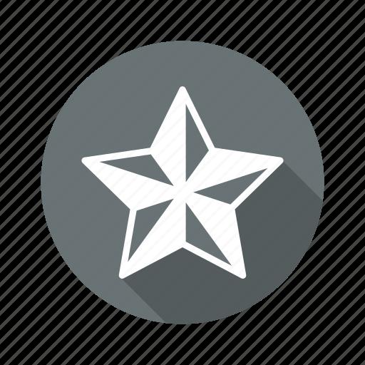 achievement, badge, favourite, prize, star icon