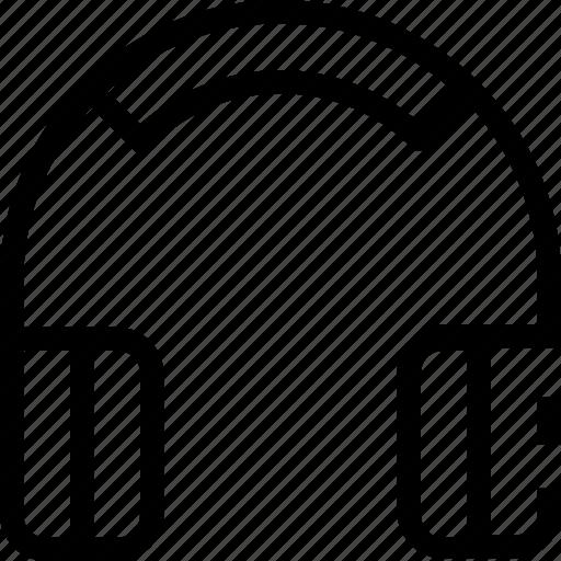 earpods, ecommerce, headphones, music icon