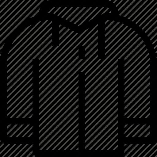 clothing, coat, ecommerce, hoode, sweatshirt icon