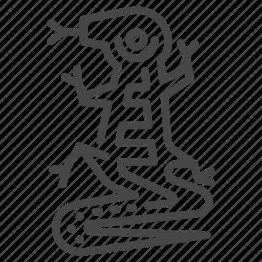 Ancient, aztec, lizard, maya, mayan, tribe icon - Download on Iconfinder