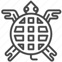 ancient, aztec, maya, mayan, tribe, turtle icon