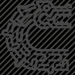 ancient, aztec, dragon, maya, mayan, sculpture, snake icon