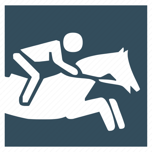 horse, horseman, horserace, race, sport icon