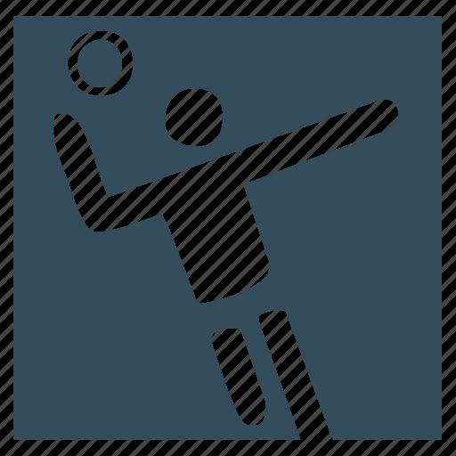 goal, handball, sport, team, volleyball icon