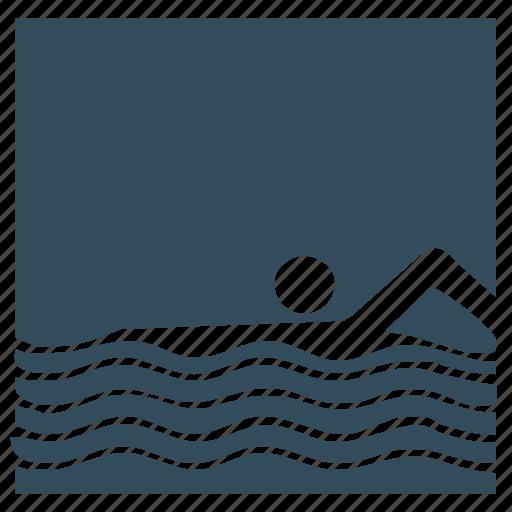 sea, sport, swim, swimming, water icon