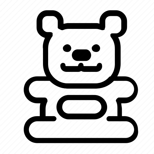 bear, teddy, teddybear icon