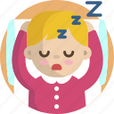 sleep, sleeping, bed, baby, child