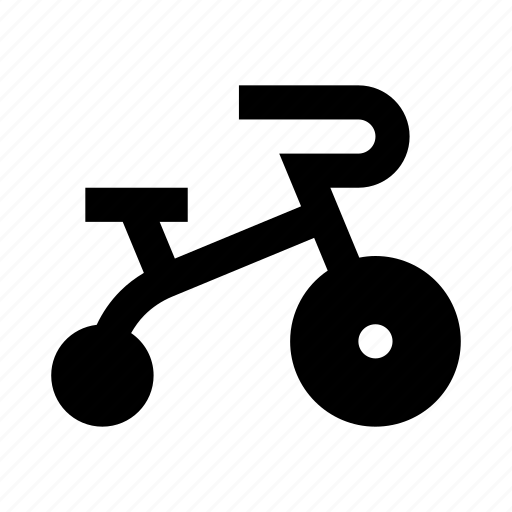 bike, kid, toy, tricycle icon