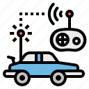 car, control, kid, radio, toy icon