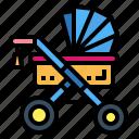 baby, childhood, motherhood, stroller