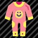 childhood, clothing, pajamas, sleepy icon