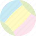 baby, baby toy, ball, bouncy, round, soft icon