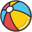 ball, baseball, kids playing, play, toy icon