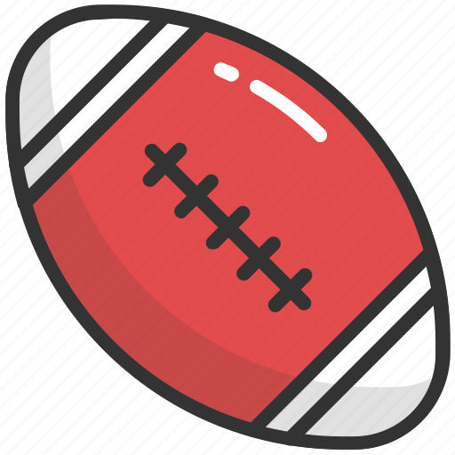american football, game, play, rugby football, sports equipment icon