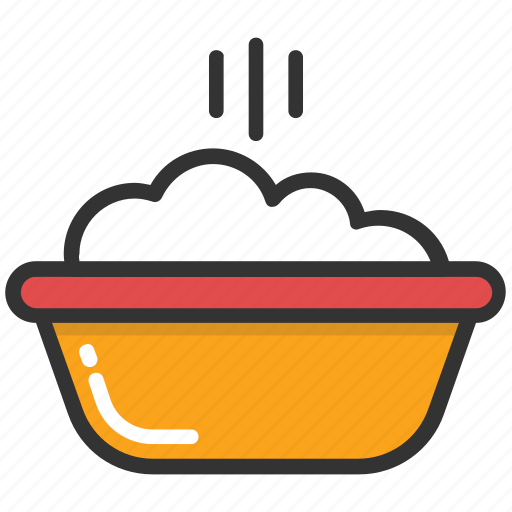 baby food, baby meal, baby nutrition, mash food, soup icon