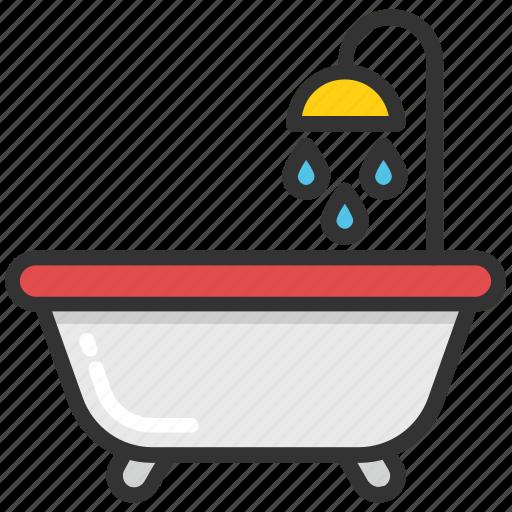baby bath, baby care, bathroom, bathtub, hygiene icon