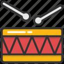 drum, children drum, musical instruments, hand drum, percussion icon