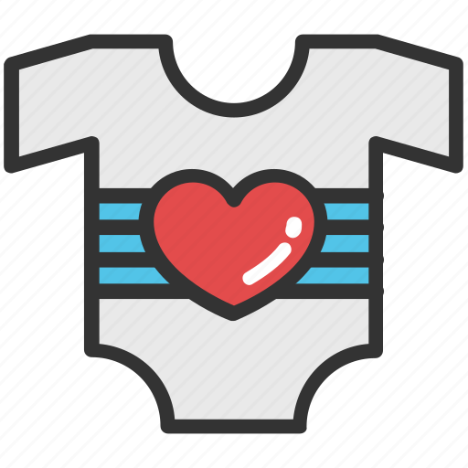 baby clothes, baby onesie, baby outfit, baby romper, kids romper icon