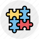 baby, baby game, game, pieces, play, puzzle icon