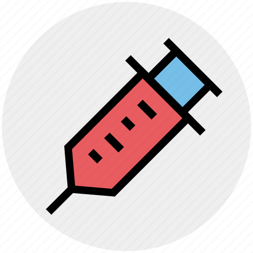 drug, injection, injector, needle, steroid, syringe, vaccine icon