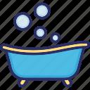 baby bath, bath, bathing tub, bathtub, shower tub icon