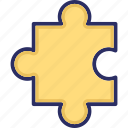 puzzle, puzzle piece, jigsaw puzzle, jigsaw, togetherness icon