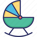 baby buggy, baby carriage, baby cart, baby transport, carriage icon