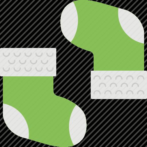 baby socks, clothes, footwear, green socks, stockings icon