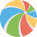 baby ball, ball, beach ball, colorful ball, toy icon
