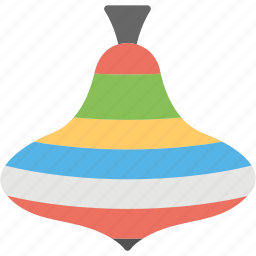 kids toy, spinner, spinning top, spinning toy, toy top icon