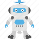 machine toy, metal toy, technology, electronic toy, robot toy icon