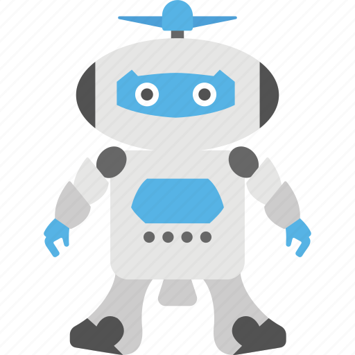 electronic toy, machine toy, metal toy, robot toy, technology icon