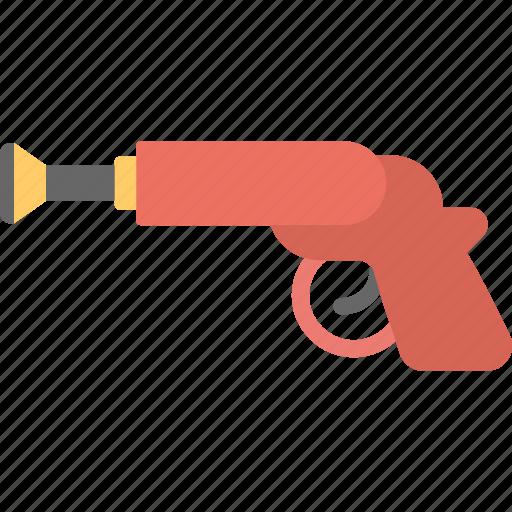 handgun toy, kids toy, plastic gun, toy gun, toy pistol icon