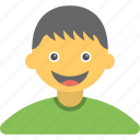 cheerful kid, happy kid, joyful kid, kid, smiling kid icon
