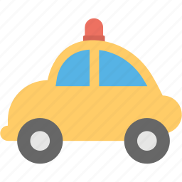 kids car, kids toy, remote car, toy car, yellow car icon