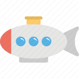 kids accessory, submarine toy, toy, underwater vessel, vessel icon