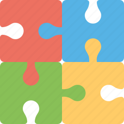 brain teaser, cognitive learning, educational toy, jigsaw, puzzle icon