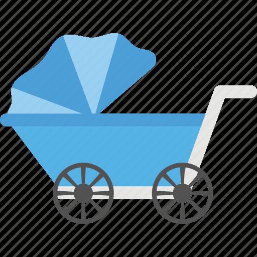 baby carrier, baby transport, pram, pushchair, stroller icon