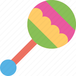 baby rattle, colorful toy, musical toy, rattle shake, toy icon